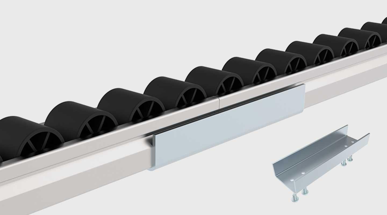 Schienenverbinder für Rollenschiene ST / XST